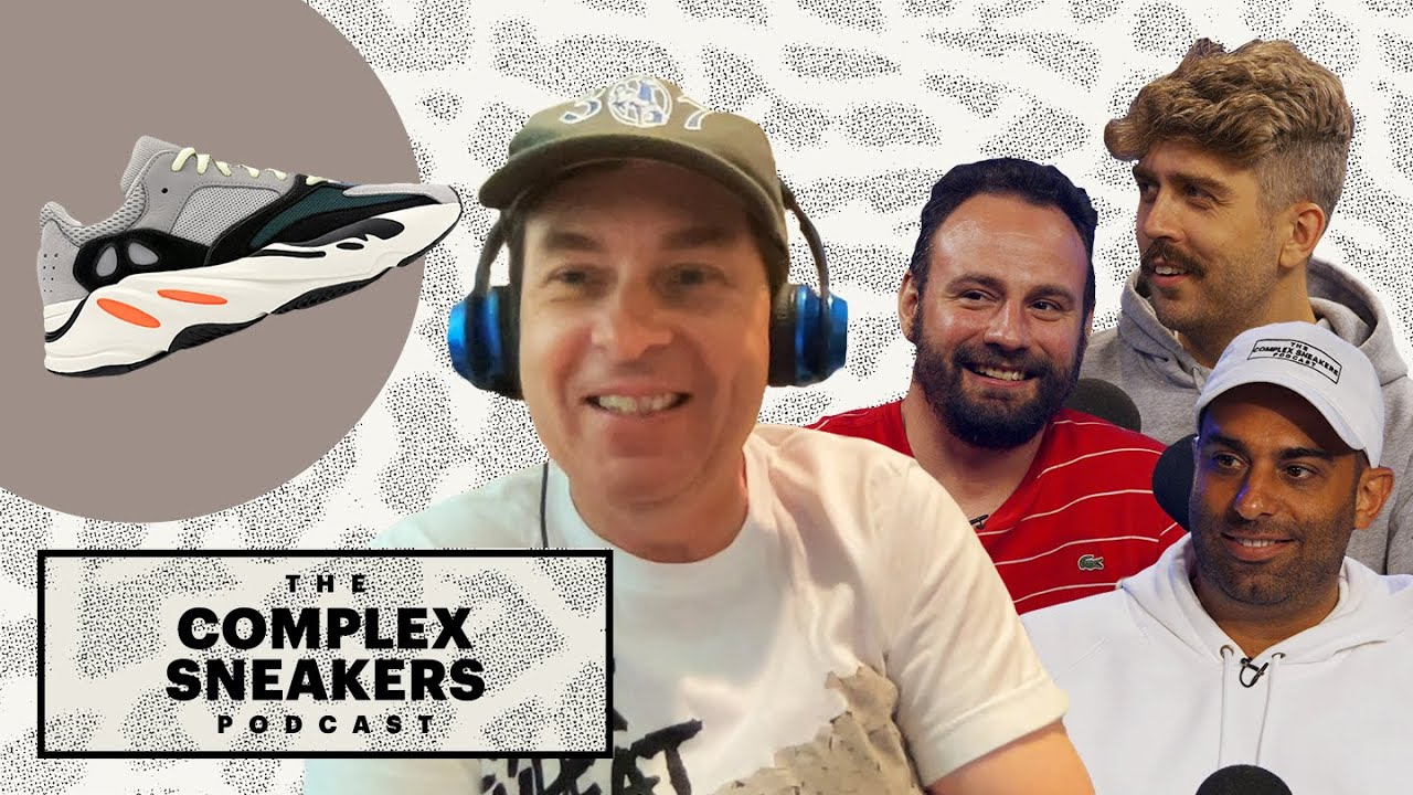 How Steven Smith Ended Up Designing Yeezys With Kanye West   The Complex Sneakers Podcast