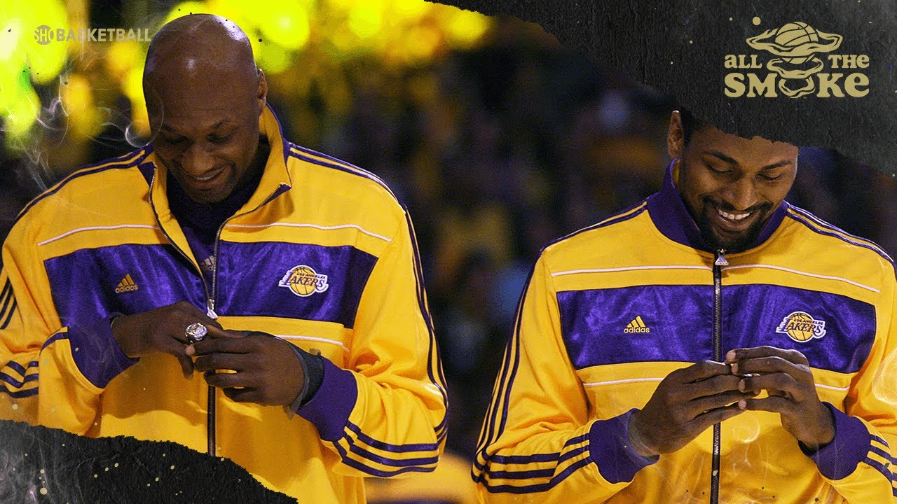 Lamar Odom Reflects On Legendary AAU Team With Ron Artest & Elton Brand | ALL THE SMOKE