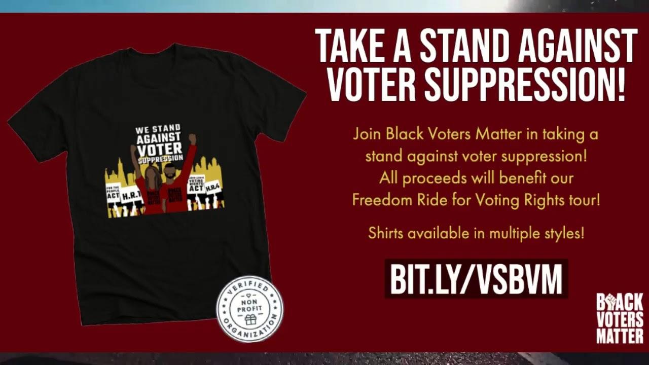 LIVE! #BlackVotersMatter Freedom Ride for voting rights in Atlanta, Georgia