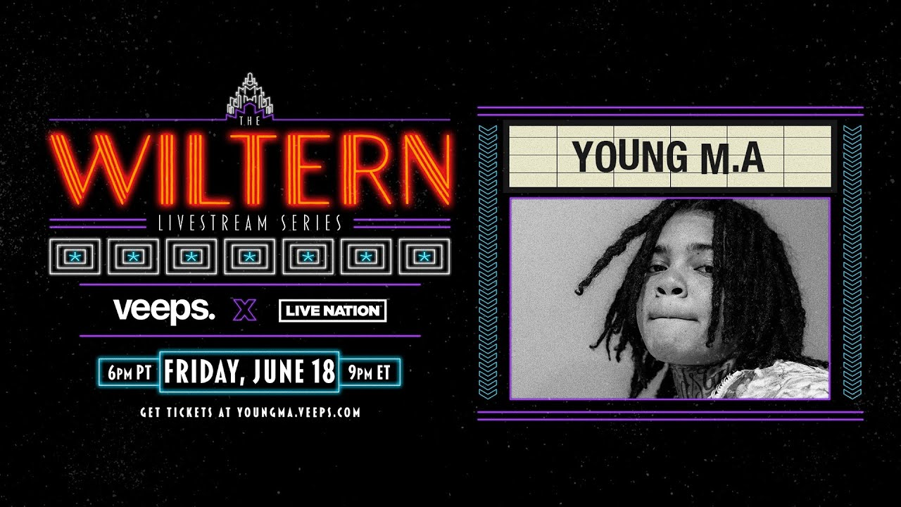 LIVE NOW: Young M.A | The Wiltern Livestream Series