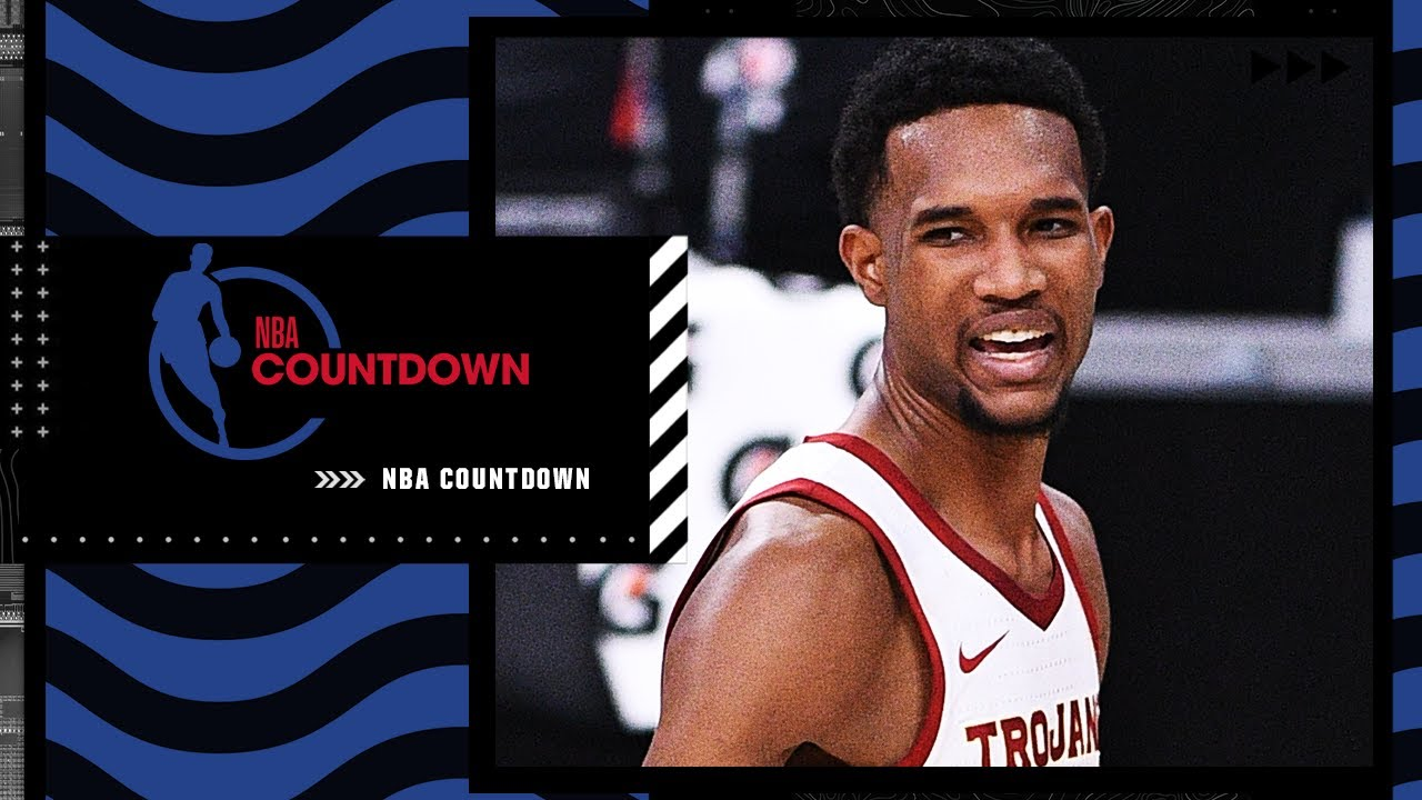 NBA Draft prospect Evan Mobley joins NBA Countdown ahead of the NBA Draft Lottery   NBA Countdown