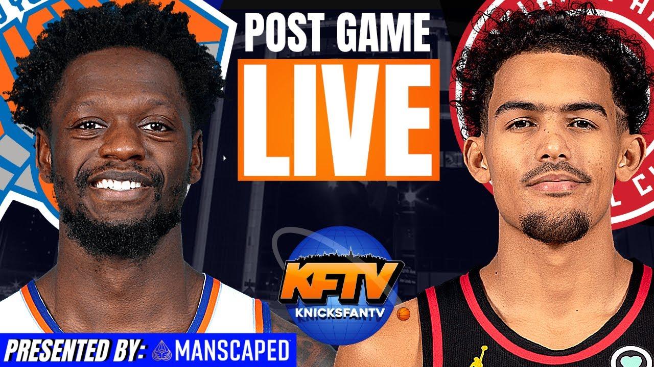 New York Knicks vs. Atlanta Hawks Game 3 Post Game | INSTANT Fan Reactions
