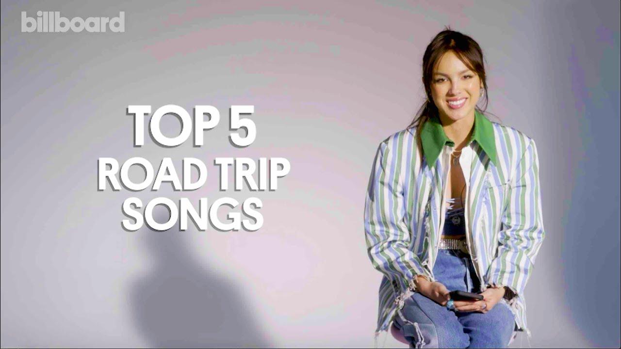 Olivia Rodrigo Tells Us Her Roadtrip Playlist I Billboard News