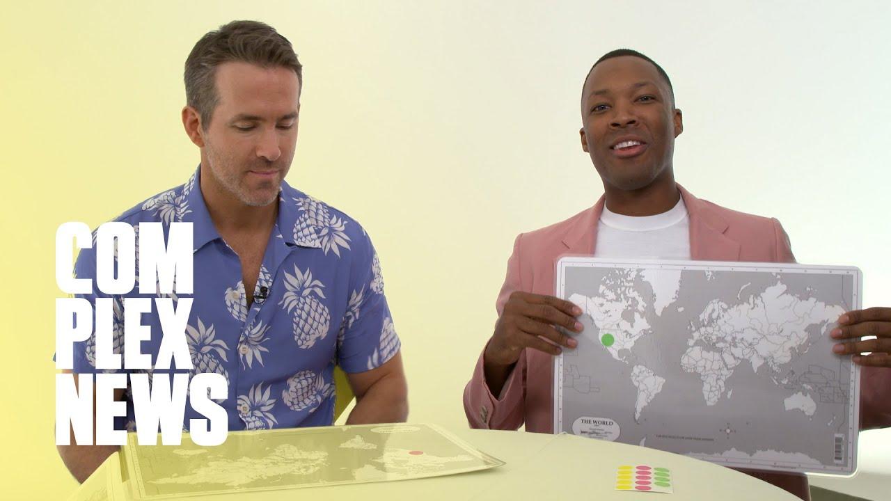 Ryan Reynolds Fails Geography Test For '6 Underground'