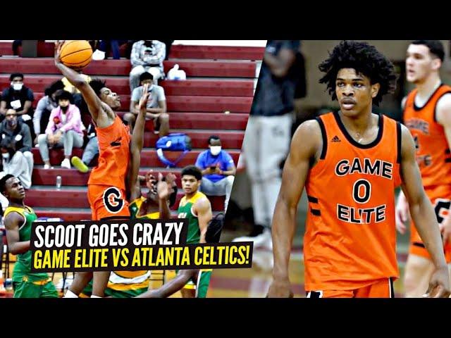 Scoot Henderson Goes CRAZY In The Battle of Atlanta!! Game Elite vs Atlanta Celtics!!