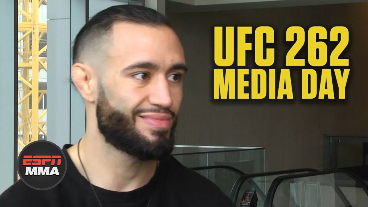 Shane Burgos is looking for a statement win vs. Edson Barboza at #UFC262 | ESPN MMA