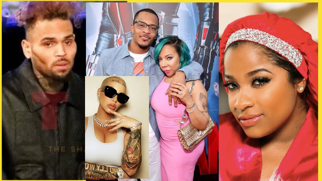 T.I. & Tiny go to church for forgiveness, Plies drag Black Women Bonnets, Chris Brown Sunken Face
