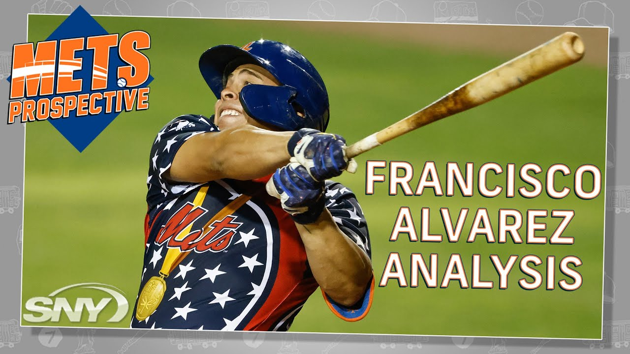 What makes Francisco Alvarez a top catching prospect at only 19 years old? | Mets Prospective | SNY