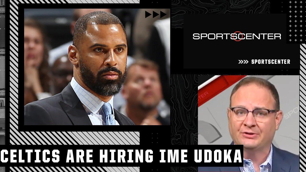Woj: The Celtics are hiring Ime Udoka as their next head coach   SportsCenter