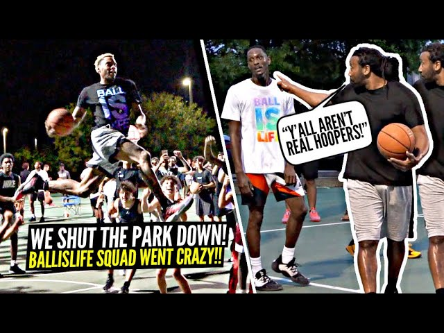"""""""YOU AREN'T REAL HOOPERS!"""" 