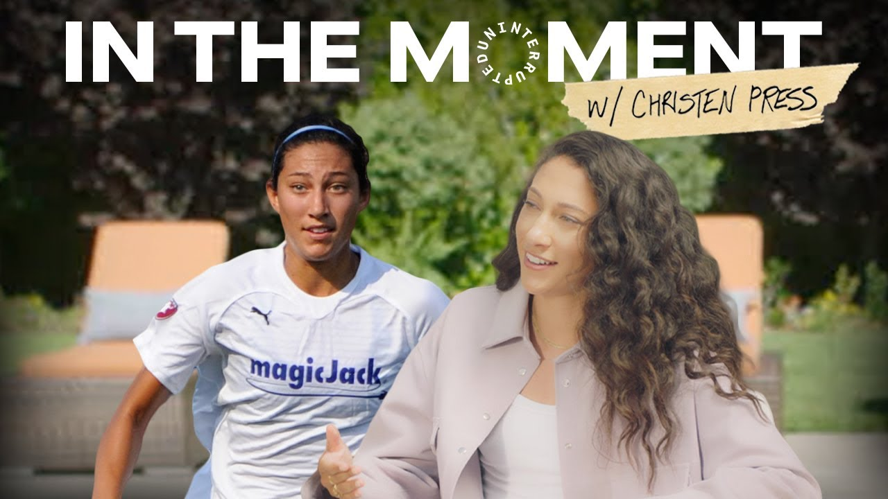 3 Moments That Shaped Christen Press   IN THE MOMENT with Cari Champion