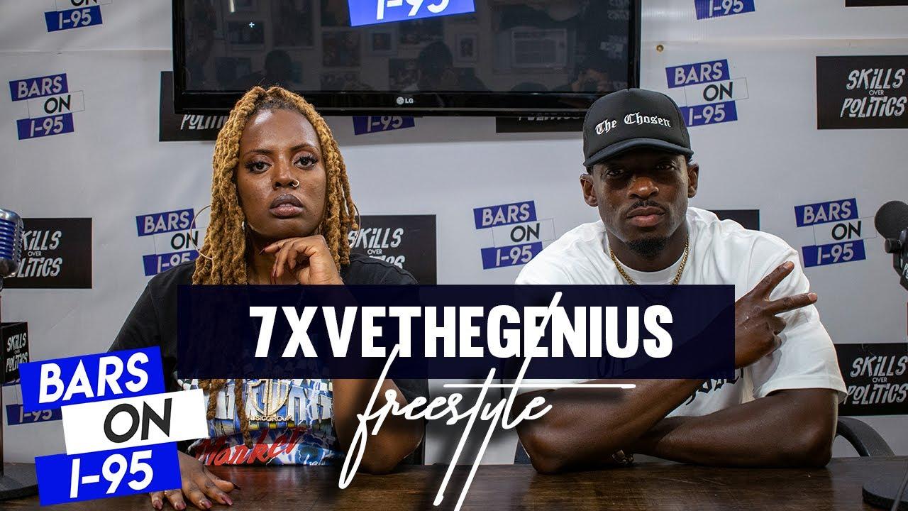 7xveTheGenius Bars On I-95 Freestyle