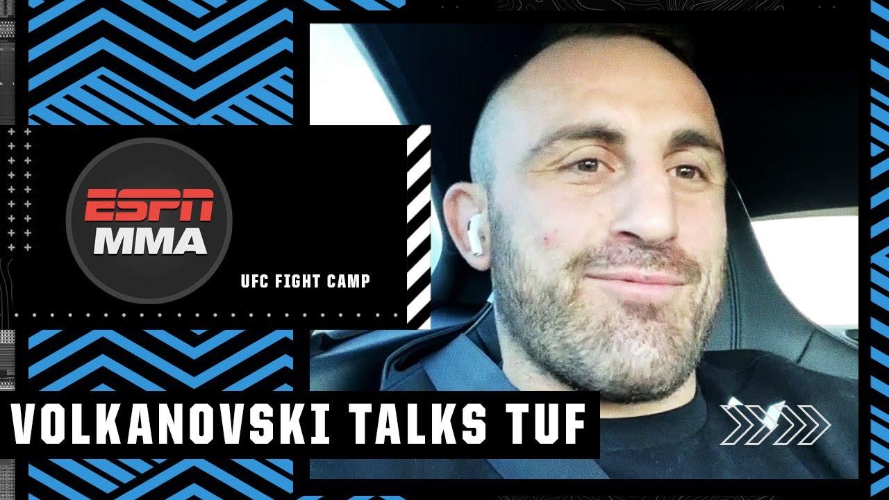 Alex Volkanovski speaks about coaching The Ultimate Fighter vs. Brian Ortega | UFC Fight Camp