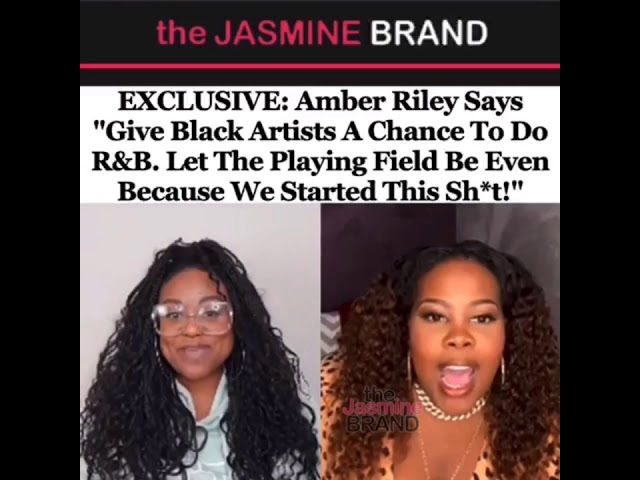 Amber Riley Says Give Black Artists A Chance To Do R&B