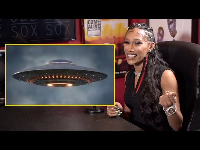 Bia talks about her UFO experience while being on mushrooms