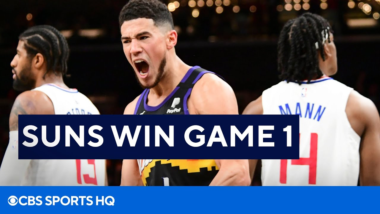 Clippers vs Suns Recap Game 1 Western Conference Finals | CBS Sports HQ