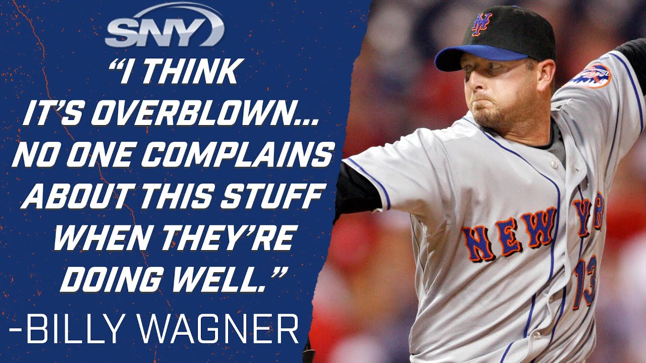 Former Mets pitcher Billy Wagner gives opinion on MLB's sticky substance crackdown   Mets   SNY