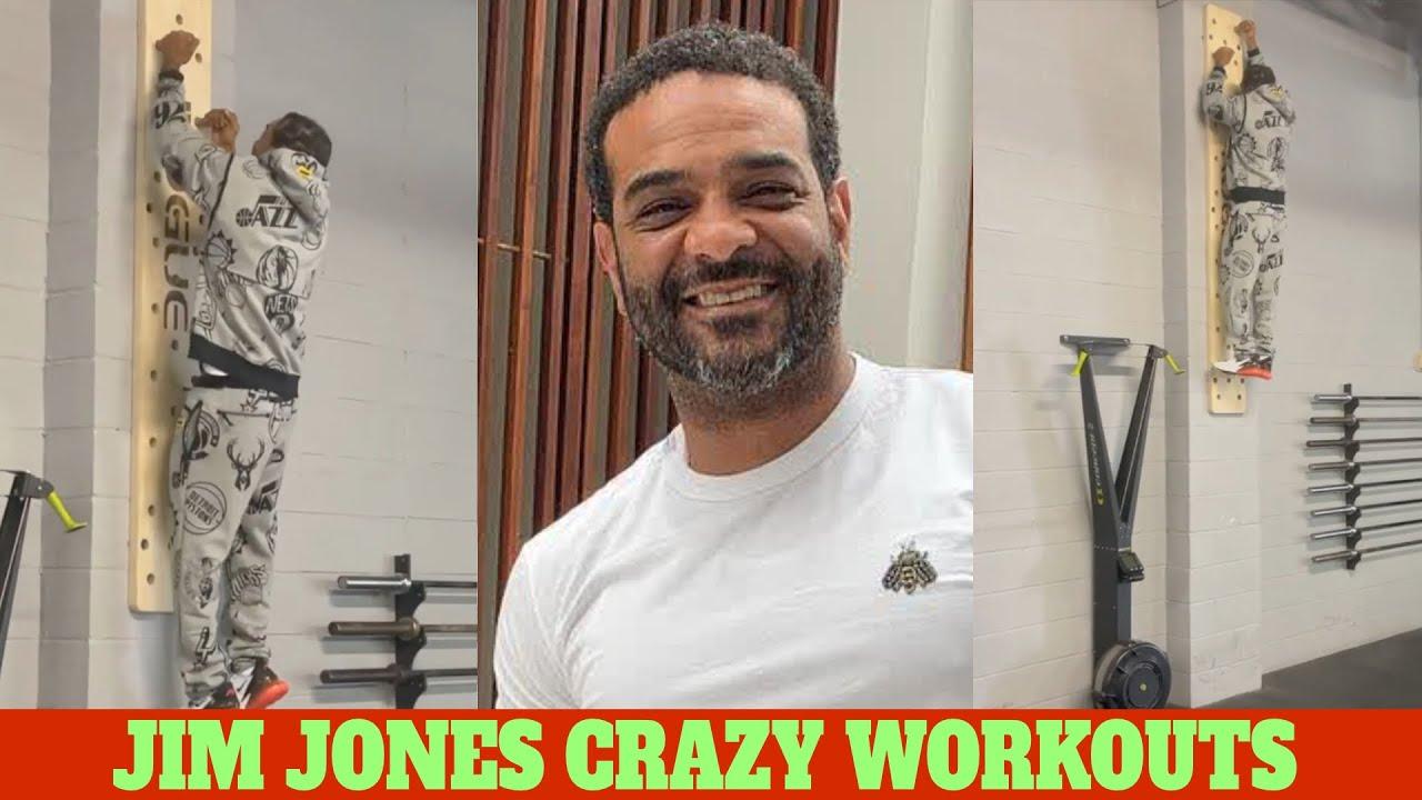 JIM JONES FITNESS ROUTINE - CELEBRITY WORKOUTS