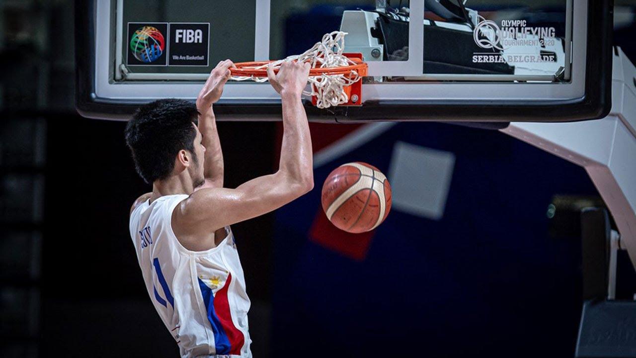 Kai Sotto dunk and block vs Dominican Republic | FIBA Olympic Qualifying Tournament 2020