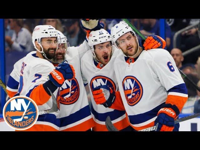 Mat Barzal Reacts To Game 1 Win vs. Lightning | New York Islanders