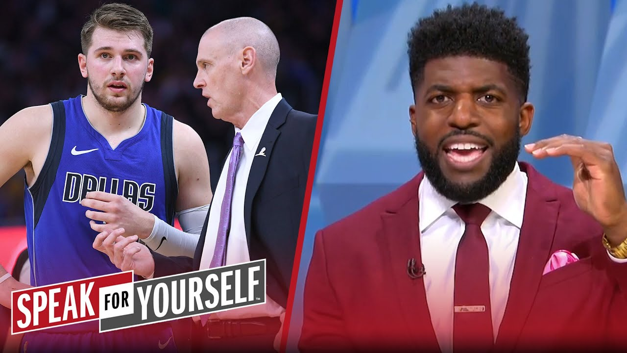 Mavericks are giving Luka Doncic too much power — Emmanuel Acho   NBA   SPEAK FOR YOURSELF