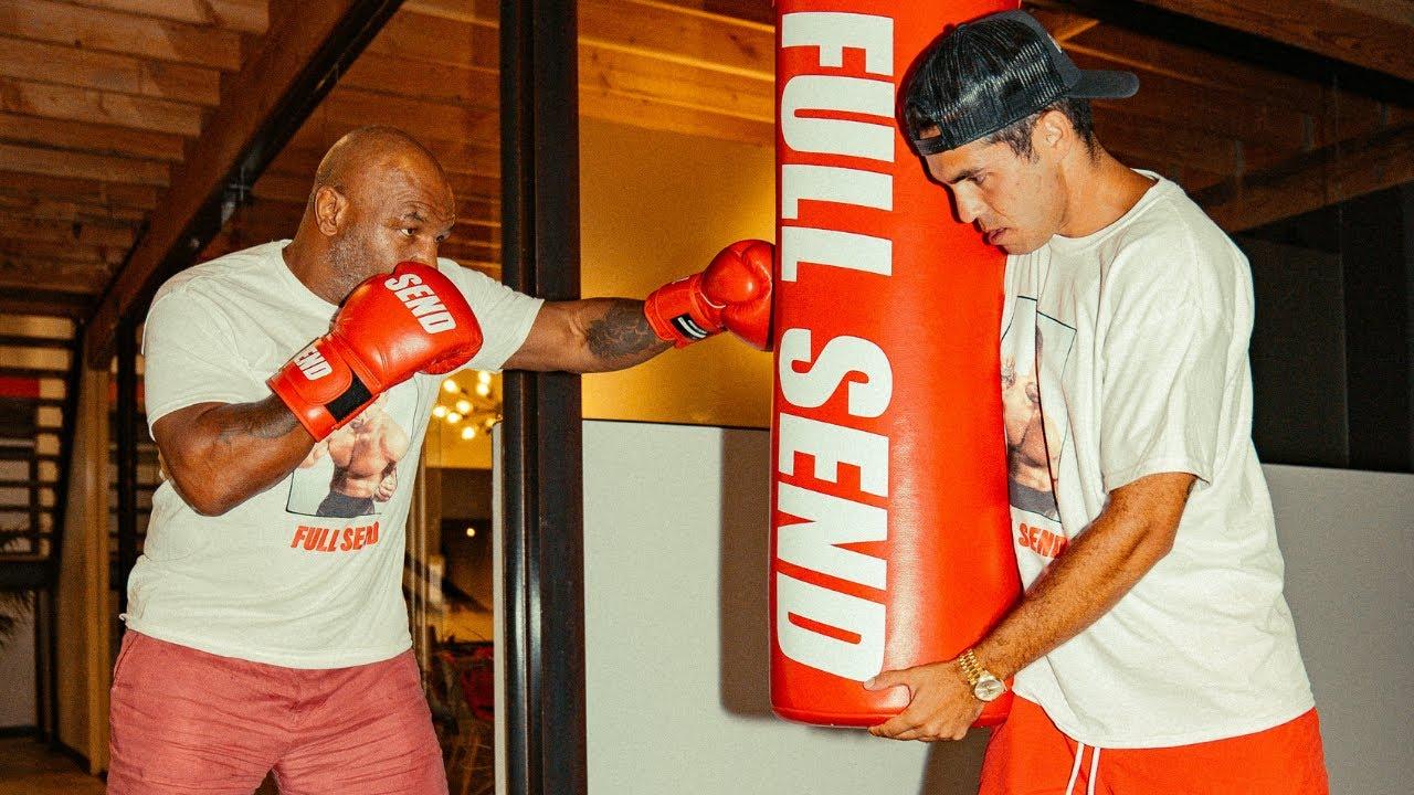 Mike Tyson visits the Nelk Boys
