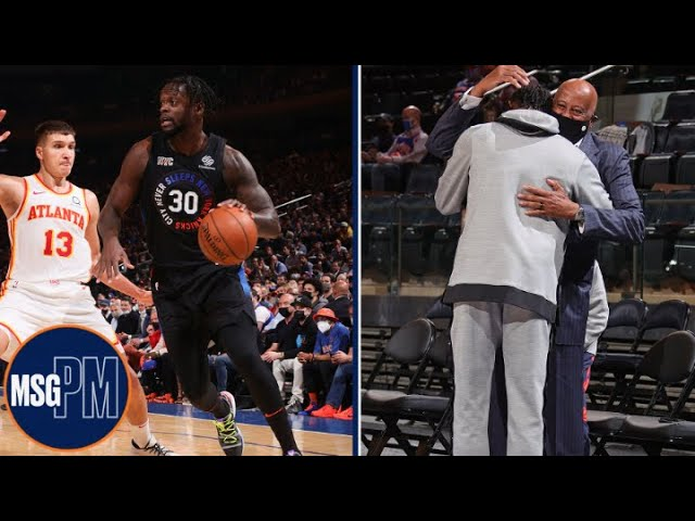 Mike Woodson Reacts To Knicks Game 2 Win vs. Hawks | MSG PM