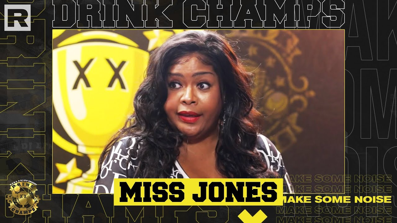 Miss Jones On Hot 97, Wendy Williams, The Passing Of Aaliyah, Nas vs. JAY-Z & More   Drink Champs