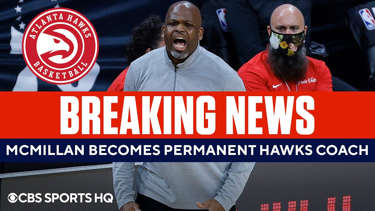Nate McMillan Becomes Hawks Permanent Coach | CBS Sports HQ