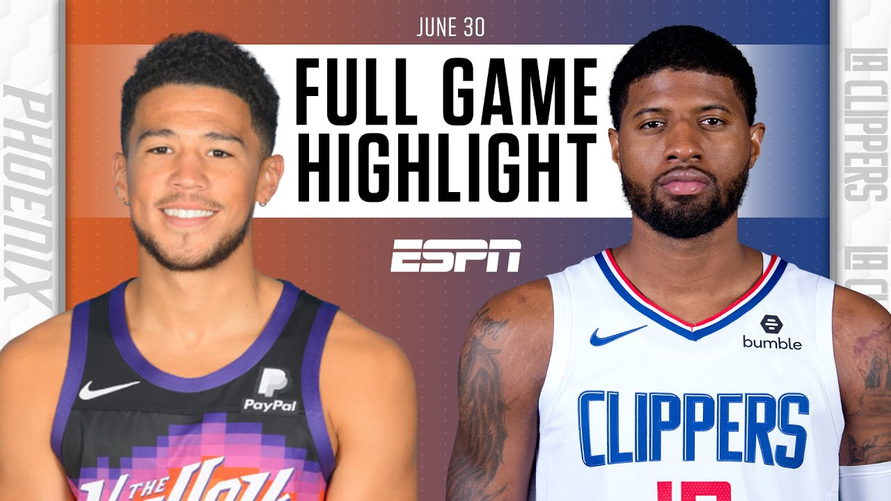 Phoenix Suns at LA Clippers | Full Game Highlights