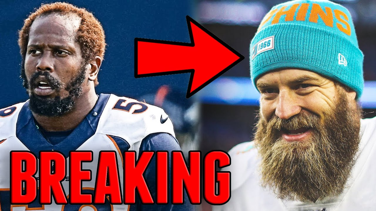 Ryan Fitzpatrick Signs With Washington! Von Miller Might Be RELEASED! Jadeveon Clowney (Free Agency)