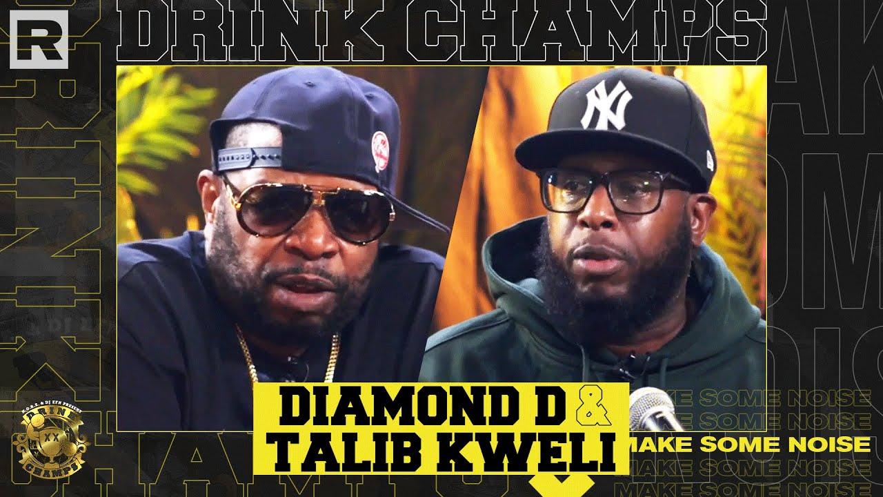 "Talib Kweli & Diamond D Talk Kanye West, Dave Chappelle, New Album ""Gotham,"" & More | Drink Champs"