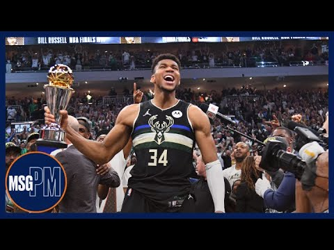 The Importance of Giannis Antetokounmpo's NBA Championship Win | MSG PM