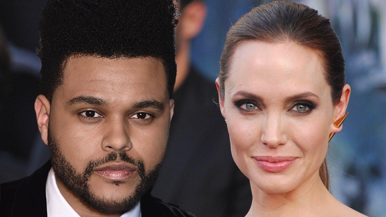 The Weeknd & Angelina Jolie Spark Dating Rumors