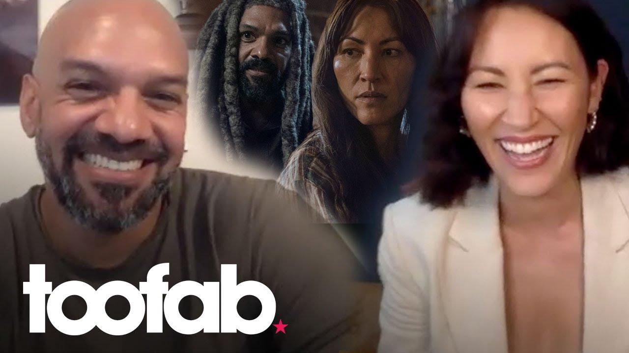 Walking Dead's Khary Payton & Eleanor Matsuura Tease Commonwealth Twists | toofab