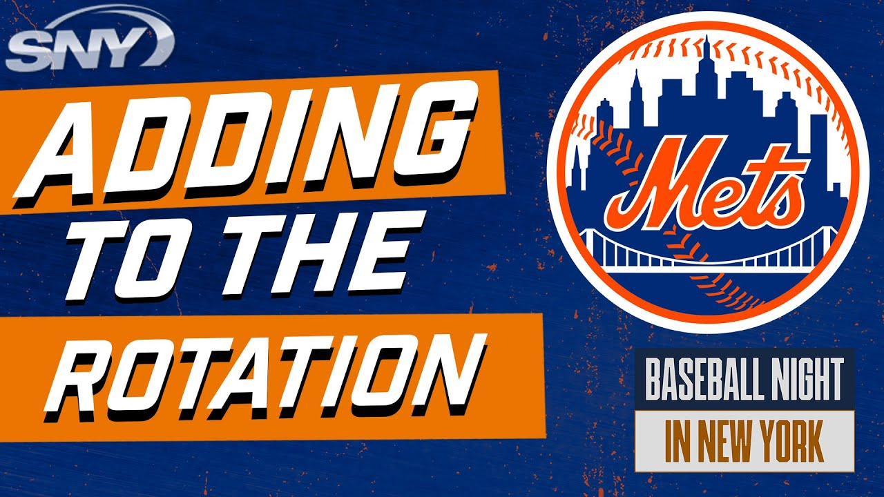What potential trade options are there for the Mets to add to their rotation?   BNNY   SNY