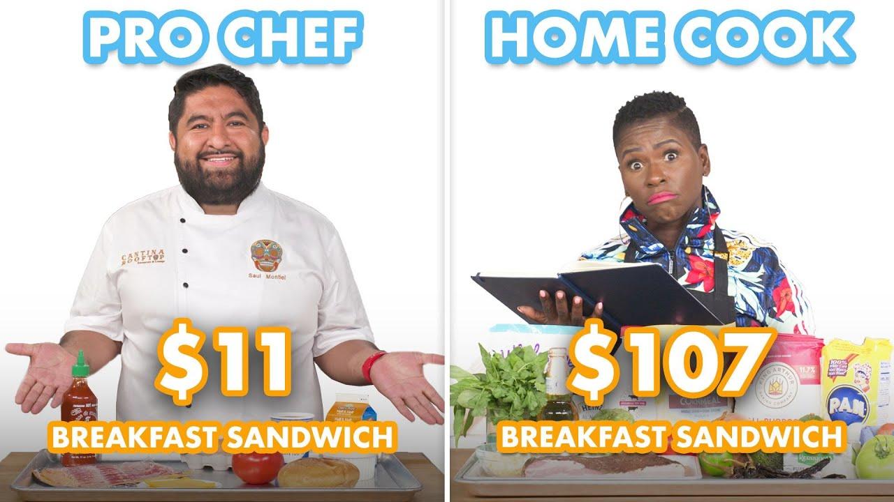 $107 vs $11 Breakfast Sandwich: Pro Chef & Home Cook Swap Ingredients   Epicurious