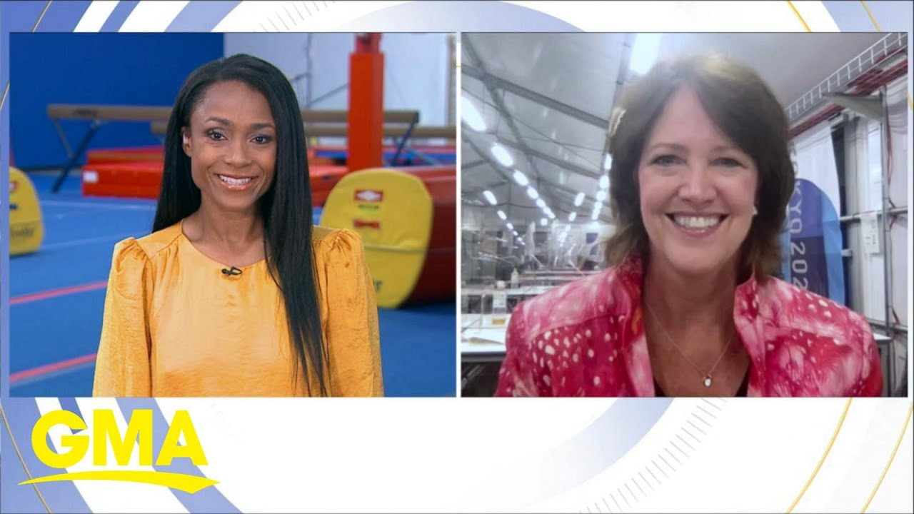 Elite sports world reacts to Simone Biles' withdrawal from Olympic events | GMA