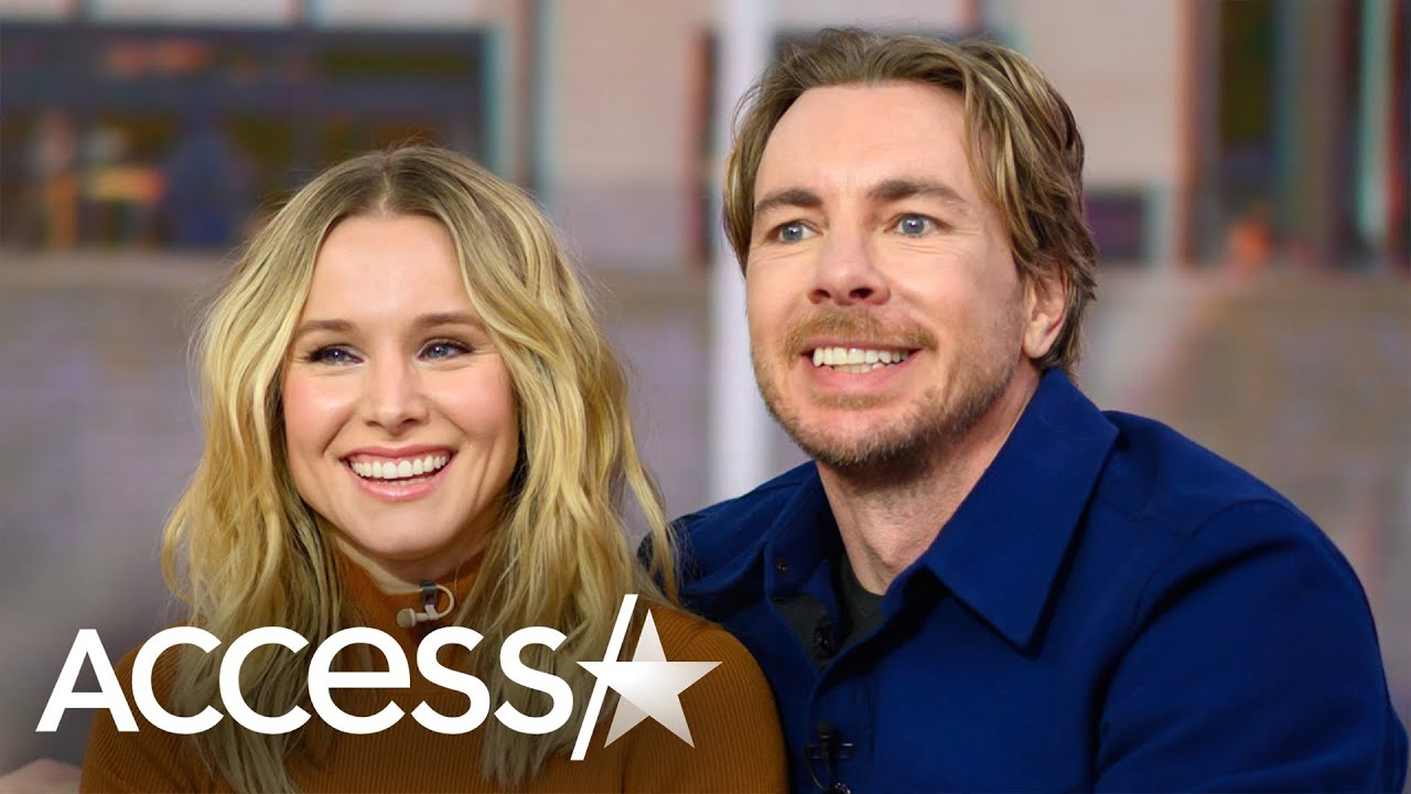 Kristen Bell & Dax Shepard's Daughter Crashes Their TV Interview