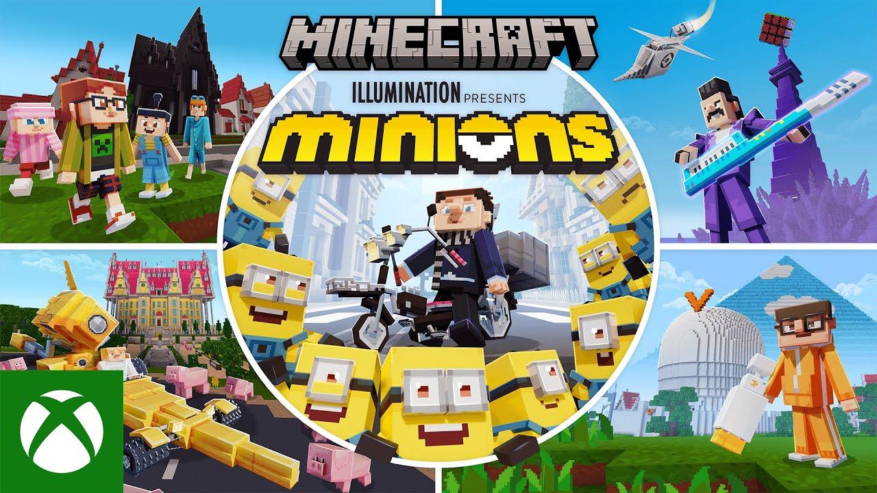 Minions x Minecraft DLC: Chaos! Chaos! Chaos!
