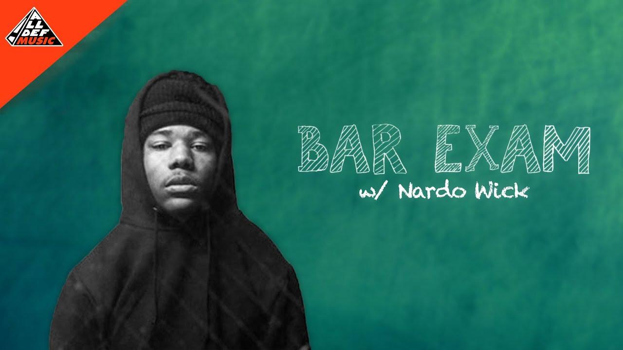 Nardo Wick Takes the 'Bar Exam' | All Def Music