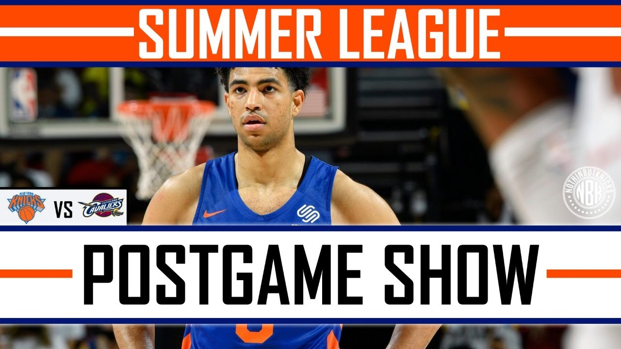 Quentin Grimes finally looks comfortable!   New York Knick vs Cleveland Cavaliers Post Game Show