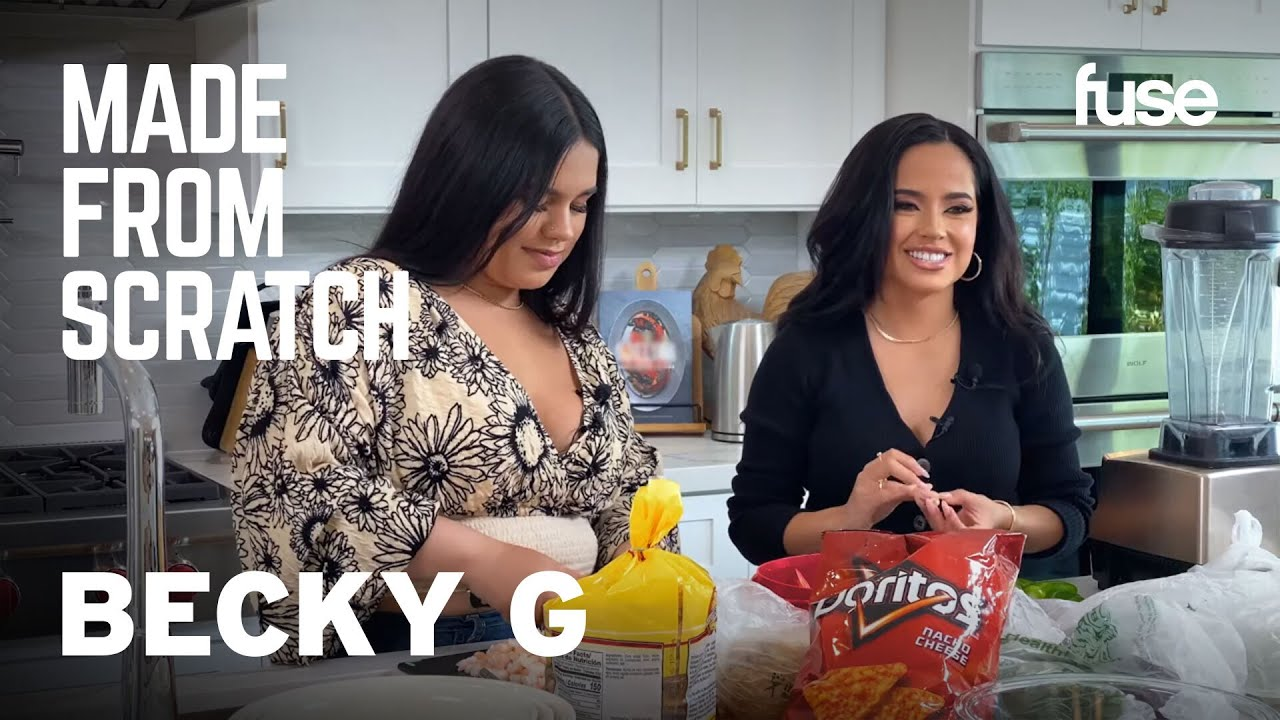 Becky G & Her Younger Sister Cook & Open Up About Their Upbringing   Made from Scratch   Fuse