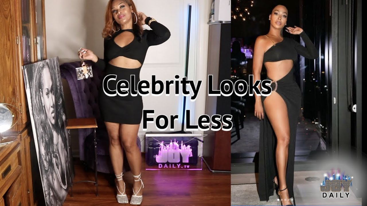 Celebrity Fashion Looks for Less with Lala and Saweetie