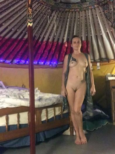 Joy In Her Yurt