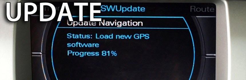 Audi MMI 2G Navigation DVD Maps