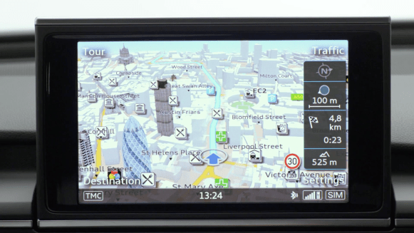 Audi MMI 3G Plus Navigation Maps SD card maps