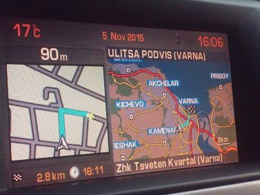 Citroen C5 NaviDrive Navigation Maps DVD Europe 2018