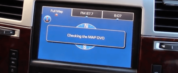Cadillac Escalade Nav DVD Map Update US / Canada 2018 proof