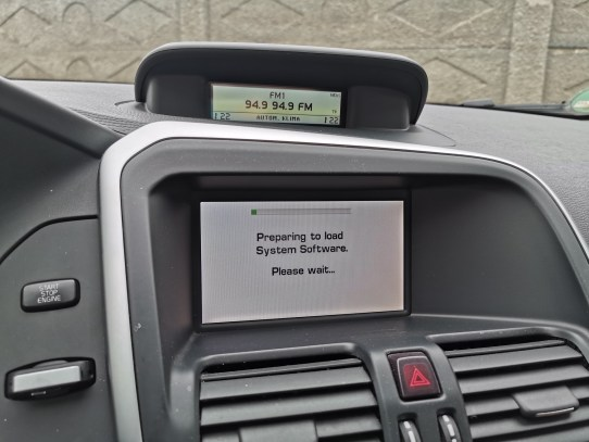 Volvo XC60 Navigation Disc Europe